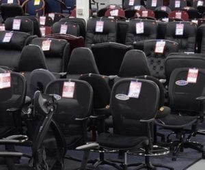Large office chairs selection, mid back, high back, mesh back, leather, reception and more
