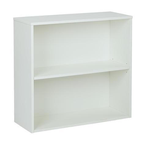 "Find Pro-Line II PRD3230-WH Prado 30"" 2 Shelf Bookcase"