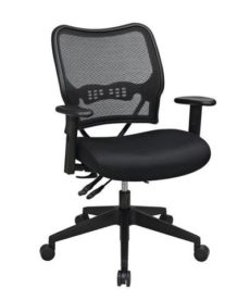 Find Office Star Space Seating 13-37N9WA Deluxe Chair with AirGrid® Back and Mesh Seat near me at OFO Orlando