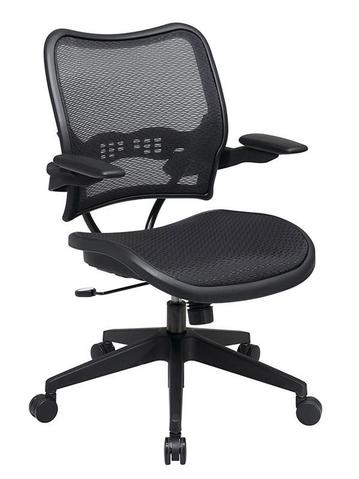Find Office Star Space Seating 13-77N1P3 Deluxe AirGrid® Seat and Back Chair with Cantilever Arms near me at OFO Orlando