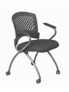 Find Office Star Pro-Line II 84330-30 Deluxe Folding Chair with Ventilated Plastic Wrap Around Back