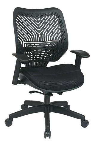 Find Office Star Space Seating 86-M33BN2W Unique Self Adjusting SpaceFlex® Back and Raven Mesh Seat Managers Chair near me at OFO Orlando