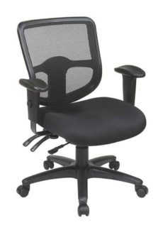 Find Office Star Pro-Line II 98344-30 Ergonomic Task Chair with ProGrid® Back and Ratchet Back Height Adjustment near me at OFO Orlando