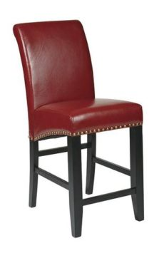 "Find Office Star OSP Designs MET8724RD 24"" Parsons Barstool near me at OFO Orlando"