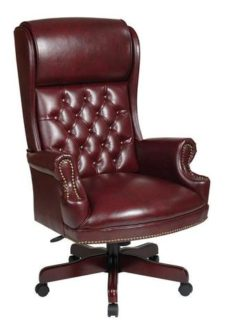 Find Office Star Work Smart TEX228-JT4 Deluxe High Back Traditional Executive  Chair near me at OFO Orlando