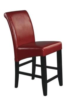 "Find Office Star OSP Designs MET8624RD 24"" Parsons Barstool near me at OFO Orlando"