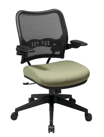 Find Office Star Space Seating 13-7N1P3 Deluxe AirGrid® Back Chair with Custom Fabric Seat and Cantilever Arms near me at OFO Orlando