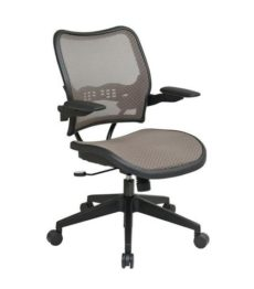 Find Office Star Space Seating 13-88N1P3 Deluxe Latte AirGrid® Seat and Back Chair with Cantilever Arms near me at OFO Orlando