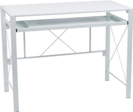 Find Office Star OSP Designs CRS25-11 Creston Desk with White Frame and White Top near me at OFO Orlando