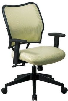 Find Office Star Space Seating 13-V66N1WA Deluxe Chair with Kiwi VeraFlex®  Back and VeraFlex®  Fabric Seat near me at OFO Orlando