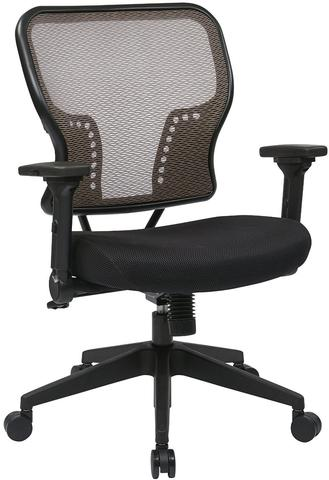 Find Space Seating 213-38N1F3 Latte Air Grid¨ Back and Padded Mesh Seat Chair with 2-to-1 Synchro Tilt Control near me at OFO Orlando
