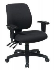 Find Office Star Work Smart 33327-30 Mid Back Dual Function Ergonomic Chair with Ratchet Back Height Adjustment with Arms near me at OFO Orlando