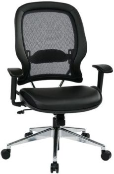 Find Professional Air Grid¨ Back Chair with Eco Leather Seat Near Me at OFO Orlando