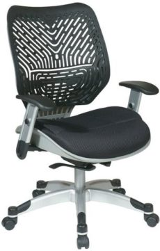 Find Office Star Space Seating 86-M33C625R Unique Self Adjusting Raven SpaceFlex® and Raven Mesh Seat Managers Chair near me at OFO Orlando