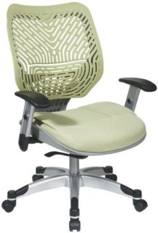 Find Office Star Space Seating 86-M39C625R Unique Self Adjusting Cosmo SpaceFlex® Back and Raven Mesh Seat Managers Chair near me at OFO Orlando