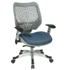 Find Office Star Space Seating 86-M74C625R Unique Self Adjusting Fog SpaceFlex® Back and Raven Mesh Seat Managers Chair near me at OFO Orlando