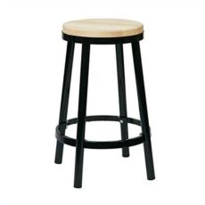 "New Bristow 26"" Metal Backless Barstool"