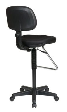 Find Work Smart DC430-231 Economical Chair with Chrome Teardrop Footrest near me at OFO Orlando