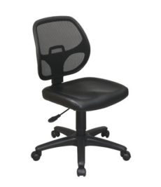Find Office Star Work Smart EM2910V Mesh Screen Back Task Chair with Vinyl Seat near me at OFO Orlando