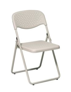 Find Office Star Work Smart FC8000NBG-11 Folding Chair with Beige Plastic Seat and Back and Beige Frame. (4 Pack) near me at OFO Orlando