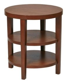 """Find Work Smart / Ave Six MRG09-CHY Merge 20"""" Round End Table near me at OFO Orlando"""