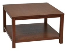 """Find Work Smart / Ave Six MRG12SR1-CHY Merge 30"""" Square Coffee Table Cherry Finish near me at OFO Orlando"""
