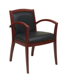 Find OSP Furniture NAP97CHY-EC3 Napa Cherry Guest Chair With Full Cushion Back (1-Pack) near me at OFO Orlando