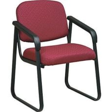 Find Work Smart V4410-74 Deluxe Sled Base Arm Chair with Designer Plastic Shell near me at OFO Orlando