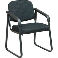 Shop Deluxe Sled Base Arm Chair with Designer Plastic Shell Near Me at OFO Orlando