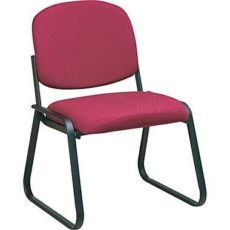 Find Work Smart V4420-74 Deluxe Sled Base Armless Chair with Designer Plastic Shell near me at OFO Orlando