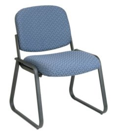 Find Work Smart V4420-78 Deluxe Sled Base Armless Chair with Designer Plastic Shell near me at OFO Orlando