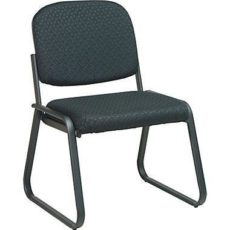 Find Work Smart V4420-80 Deluxe Sled Base Armless Chair with Designer Plastic Shell near me at OFO Orlando