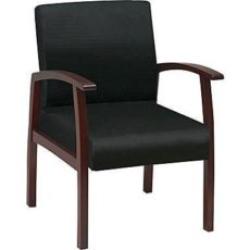 Find Deluxe Cherry Finish Guest Chair Near Me at OFO Orlando