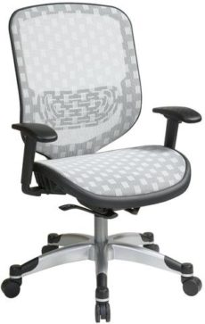 Find Office Star Space Seating 829-R11C628P White DuraFlex with Flow Through Technology™  Seat and Back Chair near me at OFO Orlando