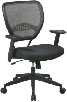 Find Office Star Space Seating 55-38N17 Deluxe Latte AirGrid® Back Managers Chair near me at OFO Orlando