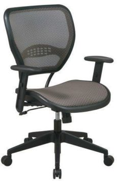 Find Office Star Space Seating 55-88N15 Latte AirGrid® Seat and Back Deluxe Task Chair near me at OFO Orlando