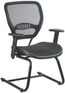 Find Office Star Space Seating 5565 AirGrid® Seat and Back Deluxe Visitors Chair near me at OFO Orlando
