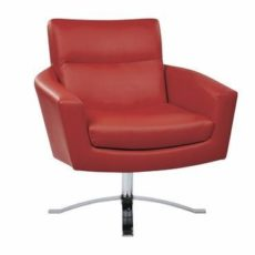 Find Ave Six NVA51-U9 Nova Chair With Red Faux Leather By Ave 6 near me at OFO Orlando
