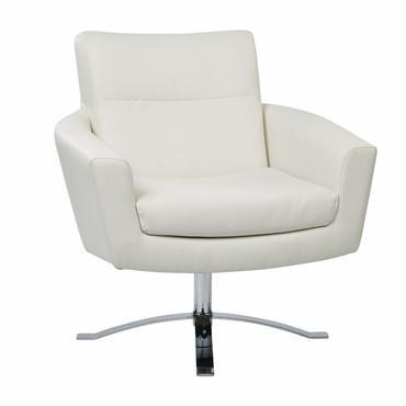 Find Ave Six NVA51-W32 Nova Chair With White Faux Leather By Ave 6 near me at OFO Orlando