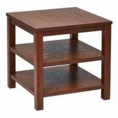"""Find Work Smart / Ave Six MRG09S-CHY Merge 20"""" Square End Table Cherry Finish near me at OFO Orlando"""