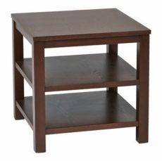 "Find Work Smart / Ave Six MRG09S-MAH Merge 20"" Square End Table mahogany Finish near me at OFO Orlando"