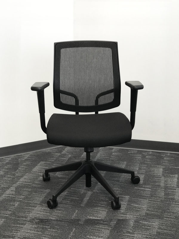 Find used black mesh executive chairs at Office Liquidation