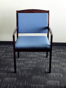 Find used blue reception chairs at Office Liquidation