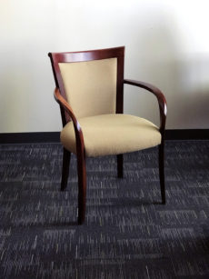 Office Liquidation Pre-Own Beige Reception Chair