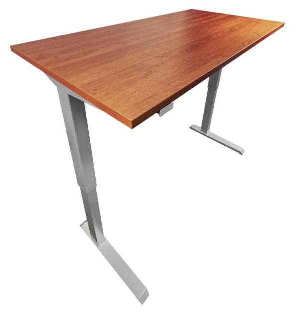 Dicdesk in White/Cherry at Office Liquidation