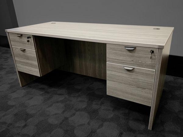 Find used grey executive desks at Office Liquidation