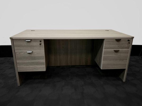 Office Liquidation New Grey Executive Desk