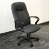 High Back Grey Chair in Grey at Office Liquidation