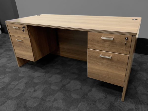 Office Liquidation New Cherryman Amber Desk
