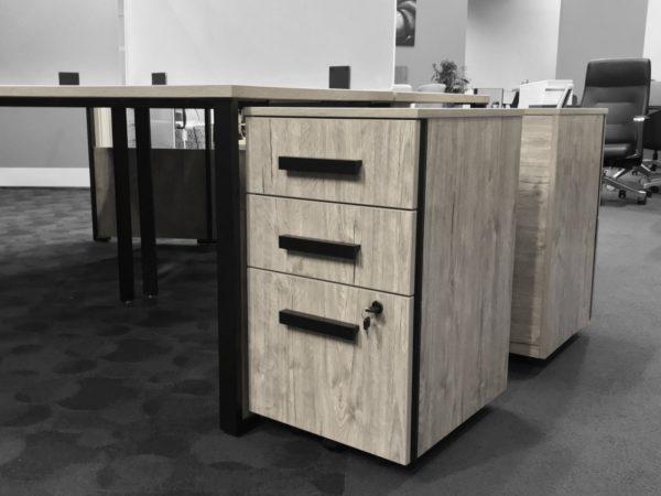 Office Liquidation New Single 120 Degree Desk